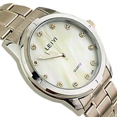 メンズドレスウォッチ日本クォーツ合金バンドの腕時計