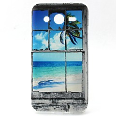 Coconut Tree Pattern TPU Material Soft Phone Case for Samsung G355H G530 G357F G360 G386F G850F G3500