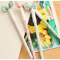 Lovely Lady Bowknot Neutral Pen (Random Color)