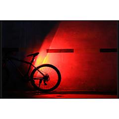 coolchange 3 tila 120lumens takavalot / turvallisuus valot / led lamput usb helppo kuljettaa pyöräily musta