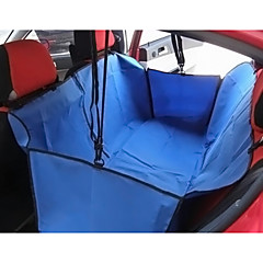 Cat Dog Car Seat Cover Pet Baskets Solid Portable Foldable Black Gray Brown Red Blue