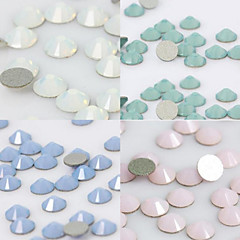 50PCS 2mm Post Opal Rhinestone Nail Art Decoration(Four Color Select)