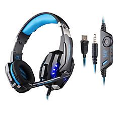 KOTION ΚΑΘΕ KOTION EACH G9000 Ακουστικά Κεφαλής (Με Λουράκι στο Κεφάλι)ForΥπολογιστήςWithΜε Μικρόφωνο / Έλεγχος Έντασης / Ηλεκτρονικό