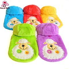 Rojo/Verde/Azul/Amarillo/Morado - Boda/Cosplay - Polar Fleece - Abrigos/Saco y Capucha - Perros/Gatos -