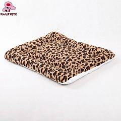 Colchonetas y Cojines - de Algodón/Tejido/Polar Fleece - Portable/Leopardo - Perros/Gatos