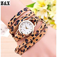 Women's Fashion  Simplicity  Quartz Analog  Sexy Leopard Wind Leather  Wrist Watch(Assorted Colors)