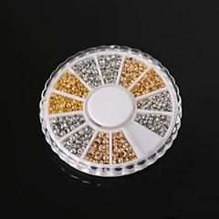 beadia koruja havainnot valikoituja koko 2.0mm 2.5mm 3mm puristettava end helmiä messinki siemenhelmet pieni spacer helmiä (aprx 660pcs)