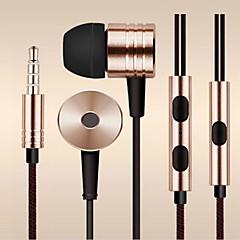 puxe fibra fio 3,5 milímetros in-ear fone de ouvido fone de ouvido para a Samsung e outros telefones Andriod (cores sortidas)