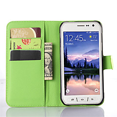 Litchi Grain Flip Leather Wallet Case Stand Cover for Samsung Galaxy S6 Active/S5 Active/S4 Active/S5 Mini/S4 Mini