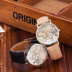 Fashion World Map Watch Relogio Feminino Women Watches Quartz Watches Reloj Mujer Cool Watches Unique Watches