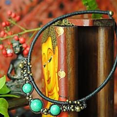Ethnic Western Alloy Necklace Pendant Necklaces 1pc