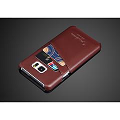 melhor couro genuíno caso de telefone celular para Samsung Galaxy Nota 5