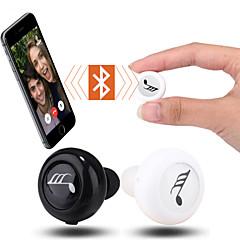 mini bluetooth 3.0 in-ear øretelefon hodetelefon headset med mikrofon for iPhone 6s 6 5s 5 (assorterte farger)