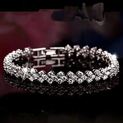 Dagelijks / Causaal / Sport - Vintage Armbanden ( Kristal / Strass , Zilver )