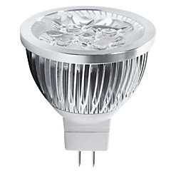 5W GU5.3(MR16) Lâmpadas de Foco de LED MR16 5 LED de Alta Potência 550 lm Branco Quente / Branco Frio Decorativa DC 12 V 1 pç