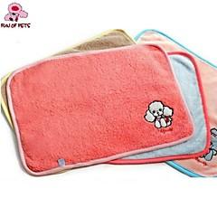 divertimento di pets®lovely ricamo cartone coperta di lana calda per gli animali domestici i cani (colori assortiti)
