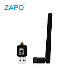 ZAPO w90foreigntrade récepteur carte wifi bureau routage d'émission de réseau sans fil les ventes alimentation USB