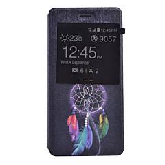 Na Etui Huawei / P9 / P9 Lite / P8 Lite Z okienkiem / Flip Kılıf Futerał Kılıf Łapacz snów Twarde Skóra PU HuaweiHuawei P9 / Huawei P9
