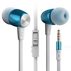 byz k460 (hi-fi nehéz basszus), fülbe fém mobiltelefon headset