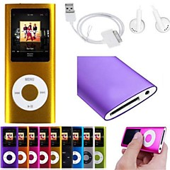 """8GB smukły odtwarzacz MP3 z 1,8 """"ekran LCD filmu radiowe fm gry wideo"""