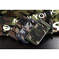 For Samsung Galaxy etui Stødsikker Etui Bagcover Etui Camouflage PC for Samsung J1 Grand Prime E7 E5 Core Prime