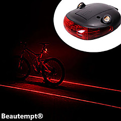 Cykellys Laser 1 Tilstand 1000 Lumens selvforsvar Andre AAA Cykling / Rejse - Andre , Sort ABS