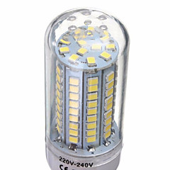 YWXLight® E14/G9/GU10/E26/E27/B22 18W 102x2835SMD 1650LM Warm/Cool White LED AC 220-240V