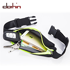 Clothin Sports,Cycling,Running and Fitness Expandable Waterproof Waist Pack Belt(Single Waist Pack)-For Iphone6