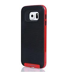 hohe Qualität 2 in 1 Hybrid-TPU + PC-Kasten für Samsung-Galaxie S4 / S5 / S6 / S6 Kante / S6 Kante plus (verschiedene Farben)