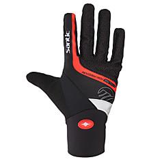 Santic® Activiteit/Sport Handschoenen Heren Fietshandschoenen Voorjaar / Herfst / Winter WielrenhandschoenenHoud Warm / Anti-Slip /
