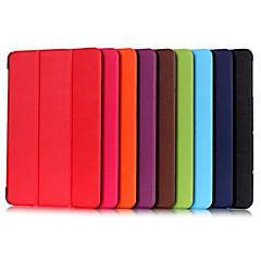 10,1 tommer tredobbelt foldning mønster høj kvalitet pu læder for lg g pad ii / lg g pad x 10.1 (assorterede farver)