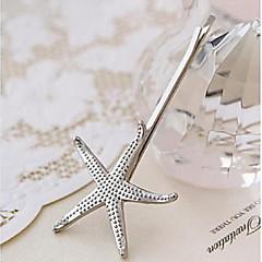 Vintage Alloy Starfish Shell Hairpin  (Color Randomly) Mermaid