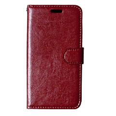 Mert Nokia tok Pénztárca / Kártyatartó / Állvánnyal Case Teljes védelem Case Egyszínű Kemény Műbőr NokiaNokia Lumia 930 / Nokia Lumia 830