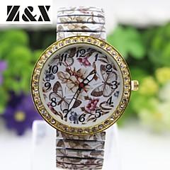 Women's Fashion Simplicity Alloy Quartz Flowers Bracelets Analog Wrist Watch