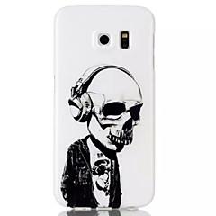 cranio TPU posteriore morbida per Samsung Galaxy S6 / S6 bordo / S4 / S5 / s3