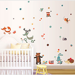 Animals / Cartoon / Fantasy Wall Stickers Plane Wall Stickers , PVC 50cm*70cm