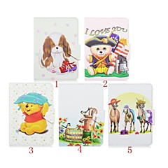 Animal Pattern High Quality PU Leather with Stand Case for 7 Inch Universal Tablet