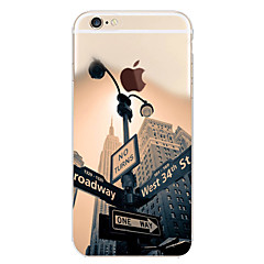 Street Lamp Pattern TPU Soft Phone Case for iPhone 7 7 Plus 6s 6 Plus SE 5s 5