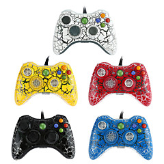 ny usb kablet gamepad kontrolleren joystick for xbox 360& slank 360e& pc vinduer