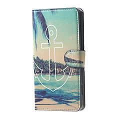 Για Θήκη Huawei P9 P8 P8 Lite Θήκες Καλύμματα Πορτοφόλι Θήκη καρτών με βάση στήριξης Πλήρης κάλυψη tok Άγκυρα Σκληρή PU Δέρμα για Huawei