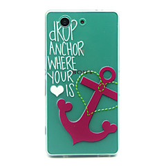 Anchors Pattern TPU Relief Back Cover Case for Sony Xperia Z3 Compact