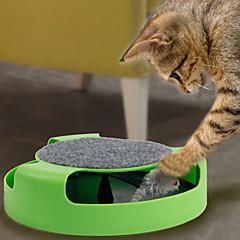 고양이 장난감 인터렉티브 / 쥐모양 장난감 Track 플라스틱 그린