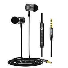 hoogwaardige oortelefoon met microfoon en line controle voor samsung s4 / s5 / s6 en HTC sony Xiaomi Android-telefoons (assorti kleur)