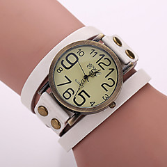 Women's Watches Vintage Digital Display Leather Quartz Strap Watch Bracelets Watches Cool Watches Unique Watches Fashion Watch