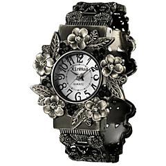 Damen Modeuhr Quartz Chronograph Legierung Band Silber Marke-