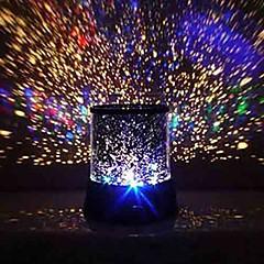 romantisk ledet stjernehimmel nattehimmelen projektor lampe barna gave stjerners lette kosmos mester