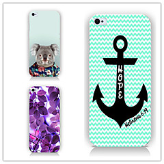Mert iPhone 5 tok Minta Case Hátlap Case Horgony Kemény PC iPhone SE/5s/5