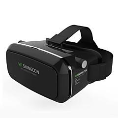 """משקפי 3D מציאות מדומה shinecon VR תיבת, בקרת BT עבור 3.5 """"-6"""" הטלפון"""