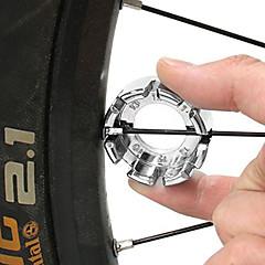 New Bicycle Bike 8 Way Spoke Nipple Key Wheel Rim Wrench Spanner Repair Tool