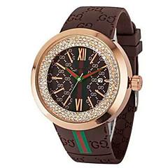 Unisex Fashion Mens Watches  Crystal Silica gel Quartz Wrist watch Cool Watch Unique Watch
